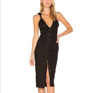 Black Stone Cold Fox Milan Dress size 0